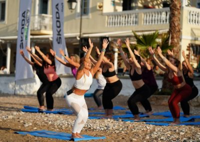 Blue Hour Yoga by @alexandra_yoga